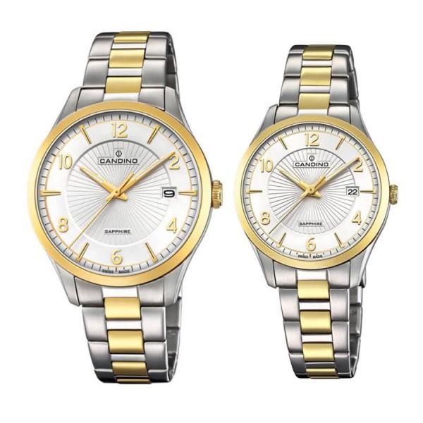 Комплект часовници за двойки Candino C4631/1 & C4632/1