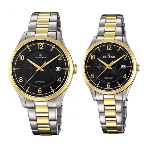 Комплект часовници за двойки Candino C4631/2 & C4632/2