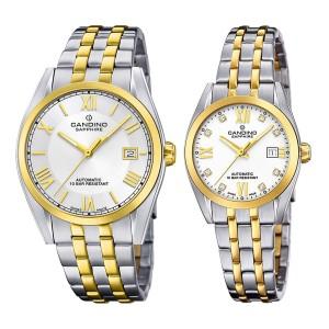 Комплект часовници за двойки Candino C4702/1 & C4704/1