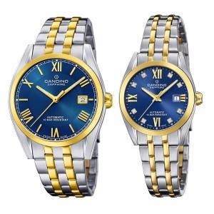 Комплект часовници за двойки Candino C4702/2 & C4704/2