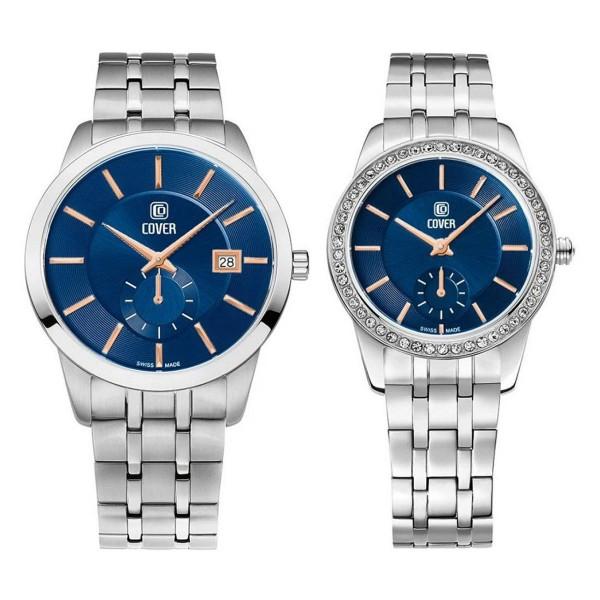 Комплект часовници за двойки Cover CO173.09 & CO174.09