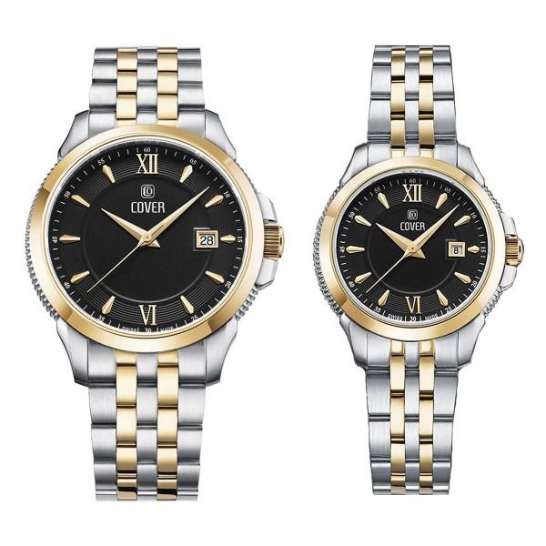 Комплект часовници за двойки Cover CO189.03 & CO190.03