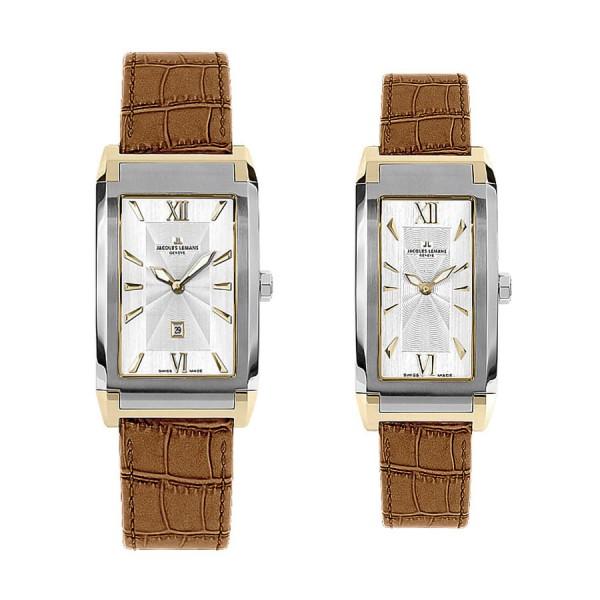 Комплект часовници за двойки Jacques Lemans G-182D & G-183D