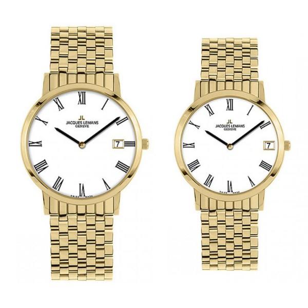Комплект часовници за двойки Jacques Lemans G-197O & G-198O