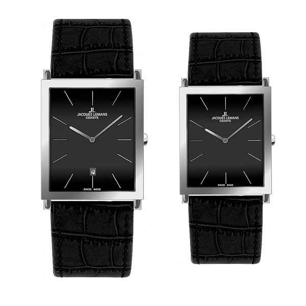 Комплект часовници за двойки Jacques Lemans G-201A & G-202A