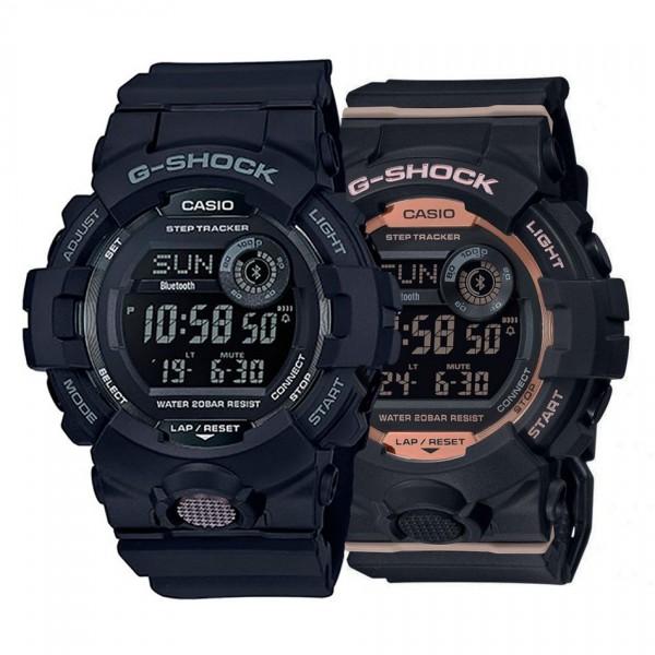 Комплект часовници за двойки Casio GBD-800-1BER & GMD-B800-1ER