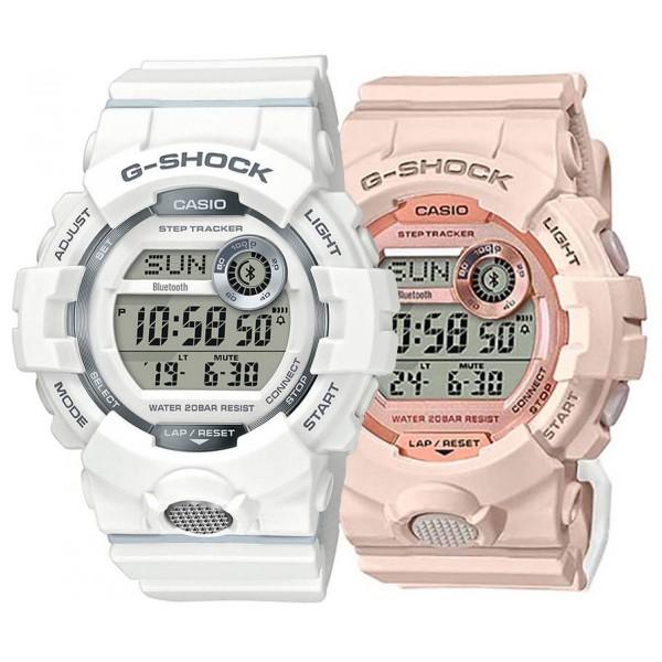 Комплект часовници за двойки Casio GBD-800-7ER & GMD-B800-4ER