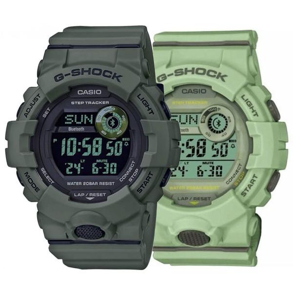 Комплект часовници за двойки Casio G-Shock GBD-800UC-3ER & GMD-B800SU-3ER