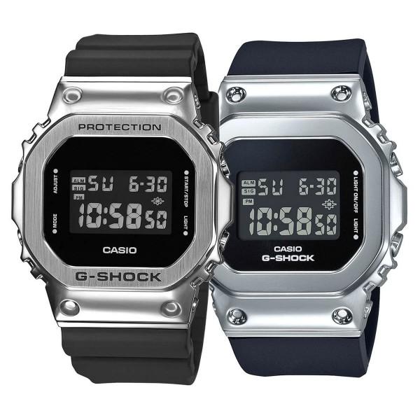 Комплект часовници за двойки Casio G-Shock GM-5600-1ER & GM-S5600-1ER