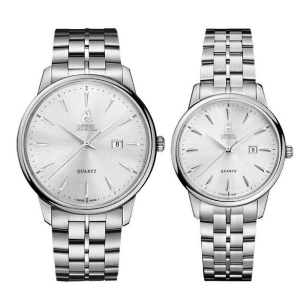 Комплект часовници за двойки Ernest Borel GS5650H-23121 & LS5650H-23121