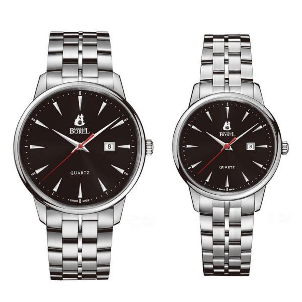 Комплект часовници за двойки Ernest Borel GS5650H-53121 & LS5650H-53121