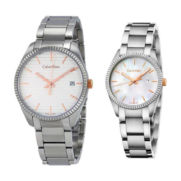 Комплект часовници за двойки Calvin Klein K5R31B46 & K5R33B4G