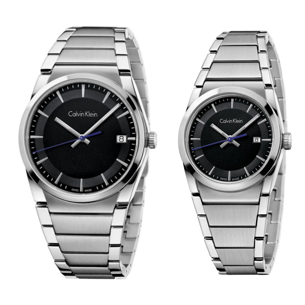 Комплект часовници за двойки Calvin Klein K6K31143 & K6K33143