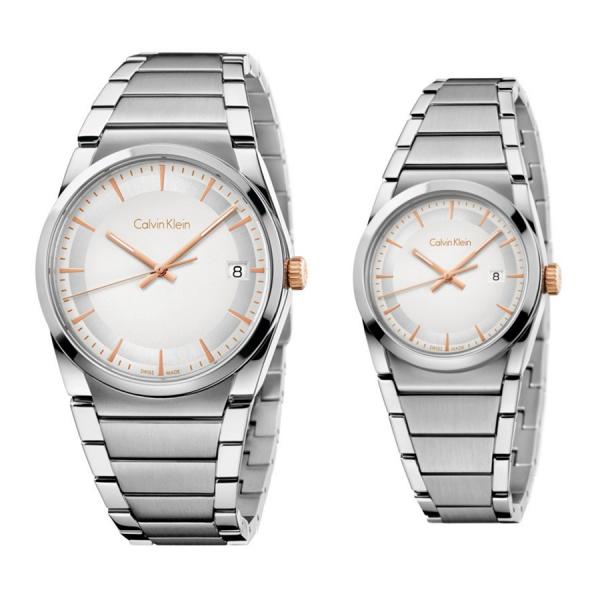 Комплект часовници за двойки Calvin Klein K6K31B46 & K6K33B46