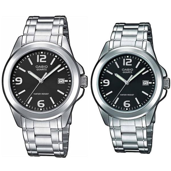 Комплект часовници за двойки Casio MTP-1259PD-1AEF & LTP-1259PD-1AEF