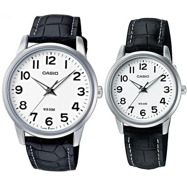 Комплект часовници за двойки Casio MTP-1303PL-7BVEF & LTP-1303PL-7BVEF