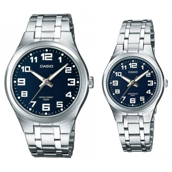 Комплект часовници за двойки Casio MTP-1310PD-2BVEF & LTP-1310PD-2BVEF