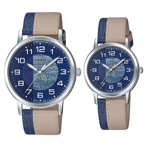 Комплект часовници за двойки Casio MTP-E159L-2B2 & LTP-E159L-2B2