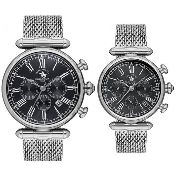 Комплект часовници за двойки Santa Barbara Polo & Racquet Club SB.6.1160.3 & SB.6.1162.3