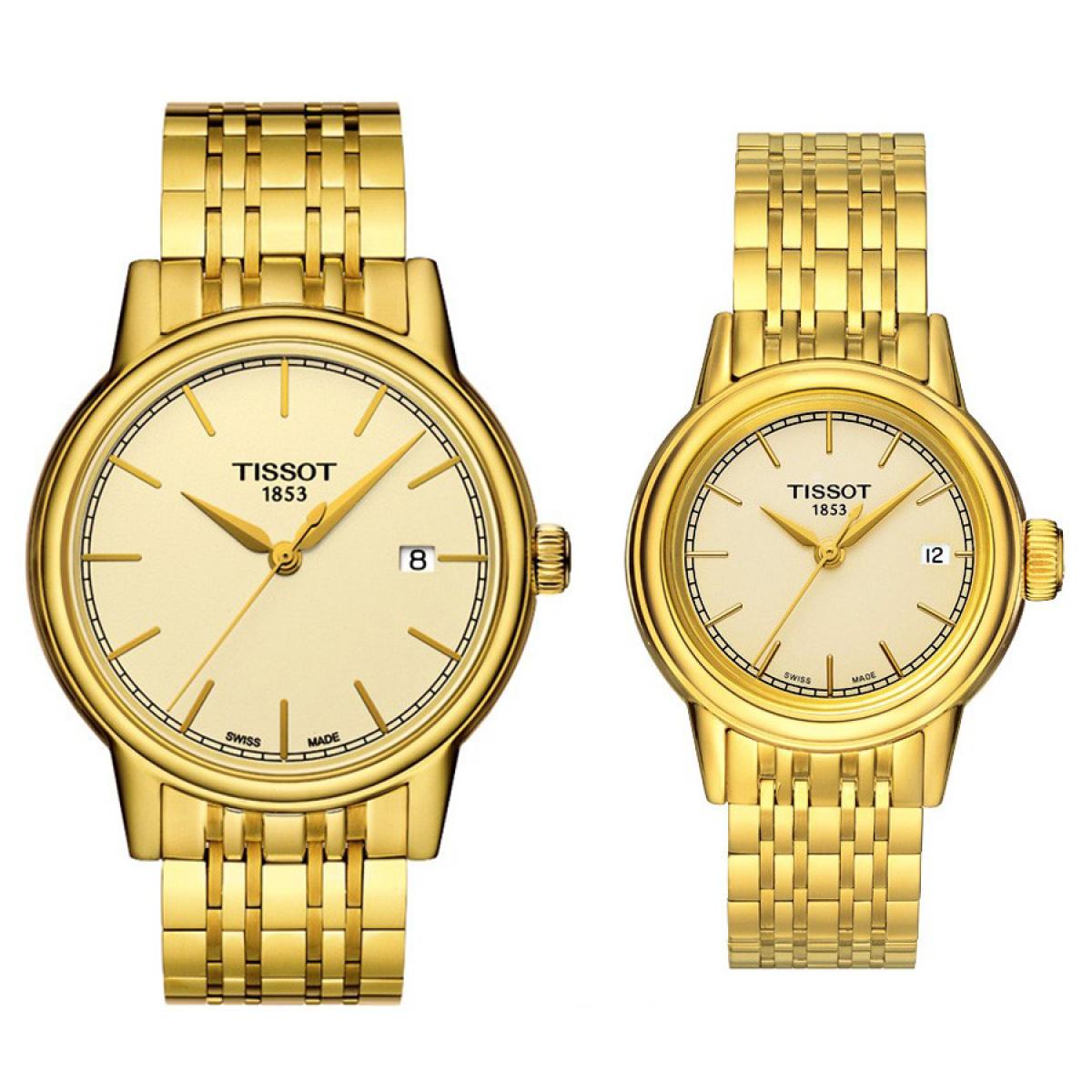 Комплект часовници за двойки Tissot T085.410.33.021.00 & T085.210.33.021.00