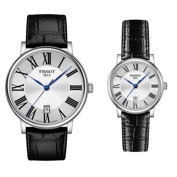 Комплект часовницни за двойки Tissot T122.410.16.033.00 & T122.210.16.033.00