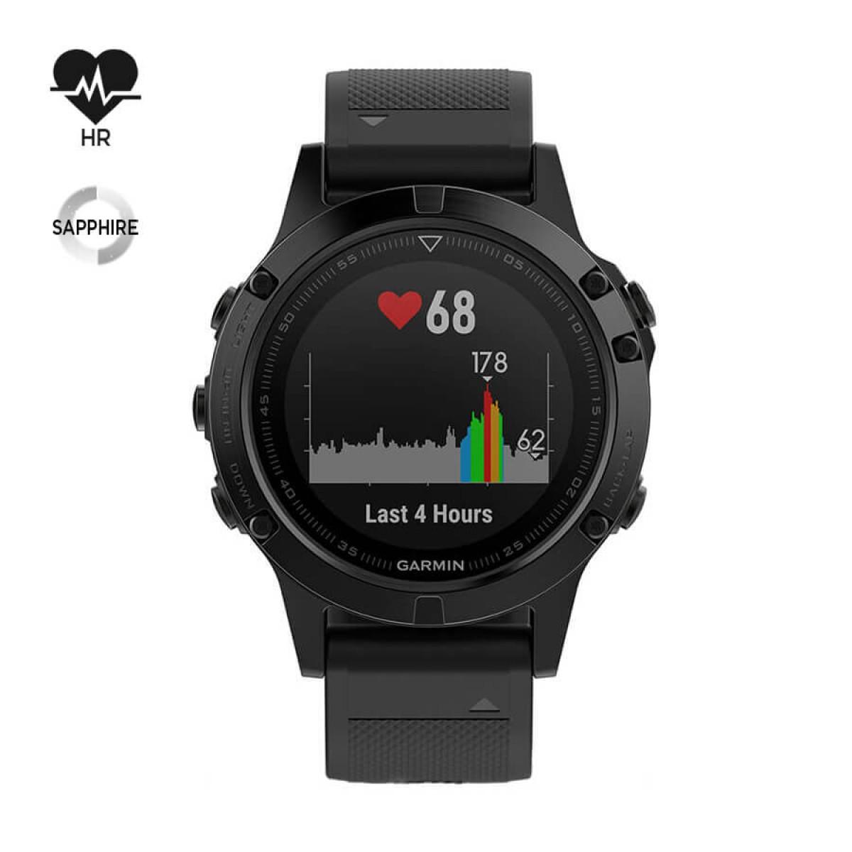 Часовник Garmin Fenix 5 Sapphire 010-01688-11