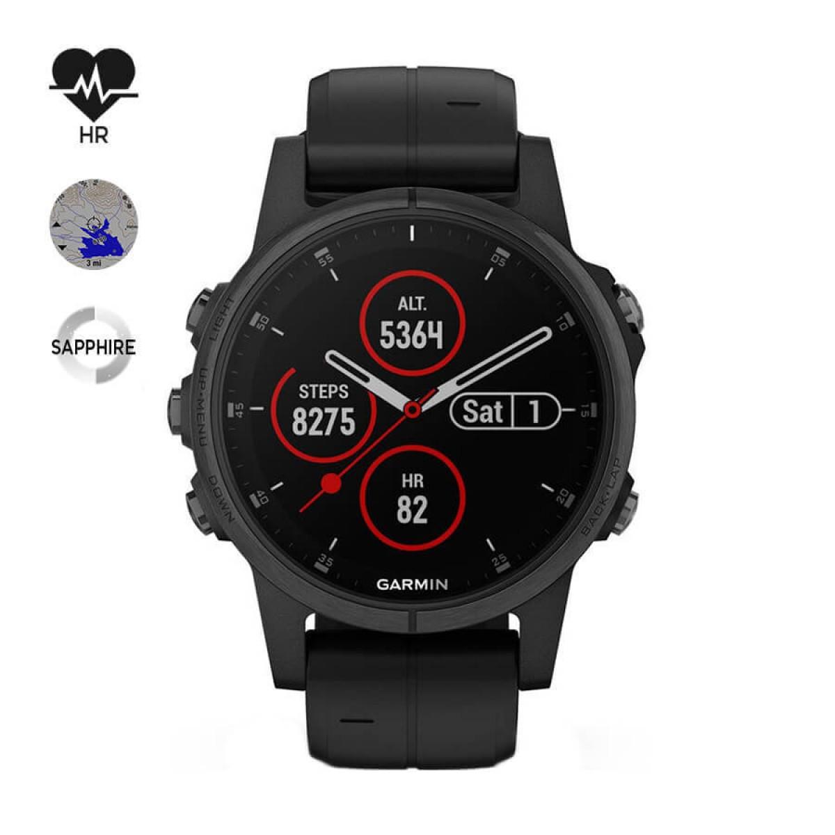 Часовник Garmin Fenix 5S Plus Sapphire 010-01987-03