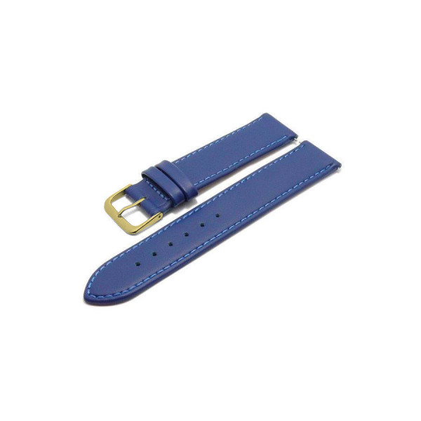 Коженa каишкa 18 мм, синя, Meyhofer MY2FCML2023-18L-2A