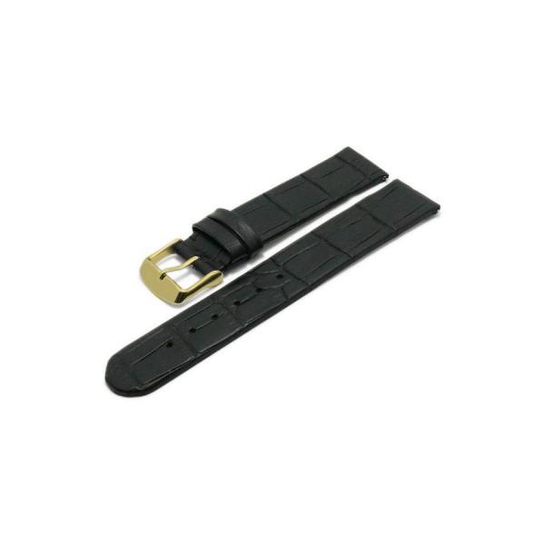 Коженa каишкa 22 мм, черна, Meyhofer MY2HESL3001-22L-1A