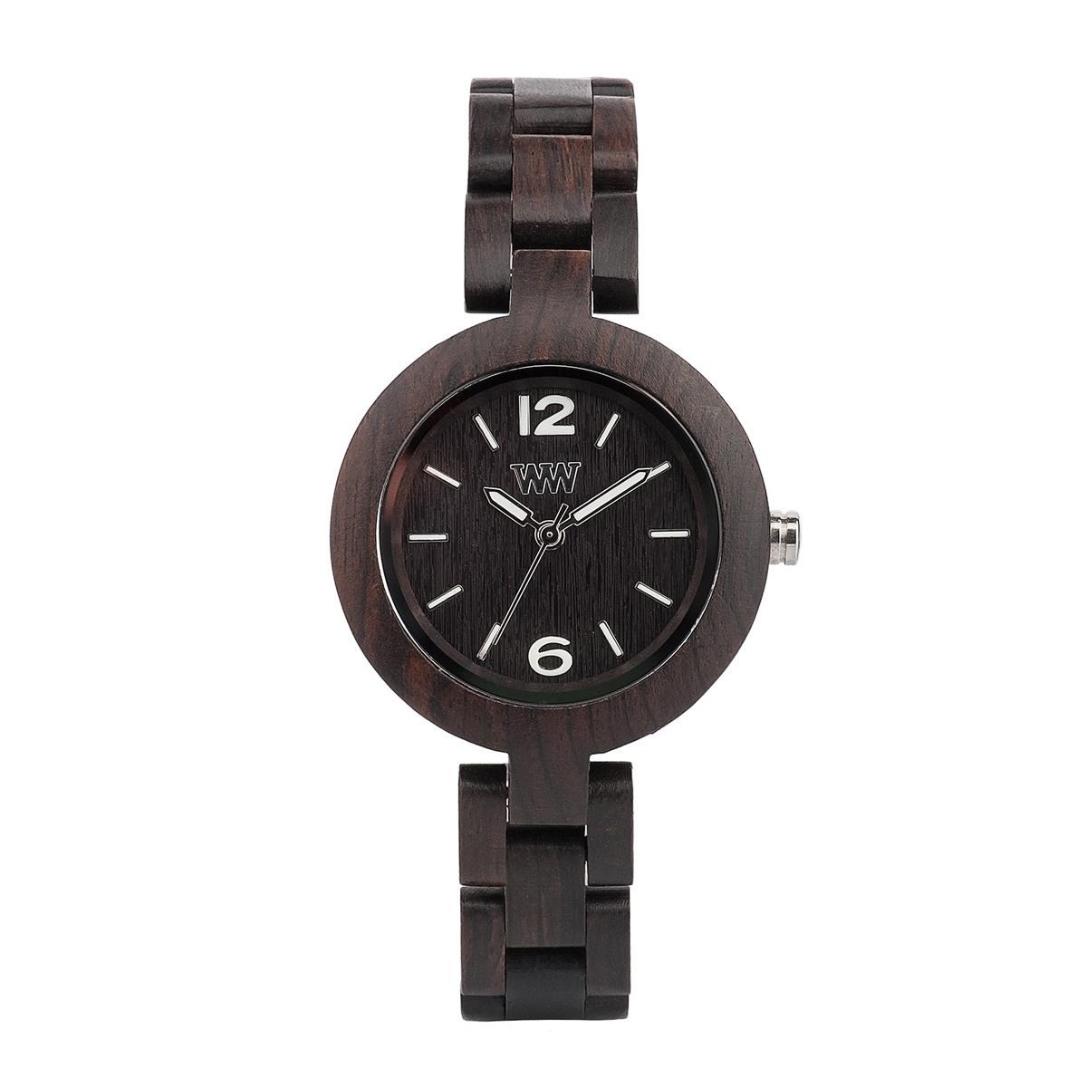 Часовник WeWood Mimosa Black