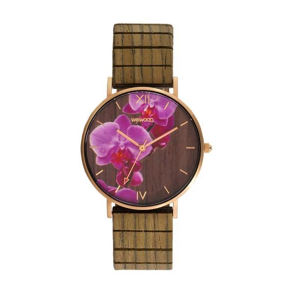Часовник WeWood Aurora Flower Nut