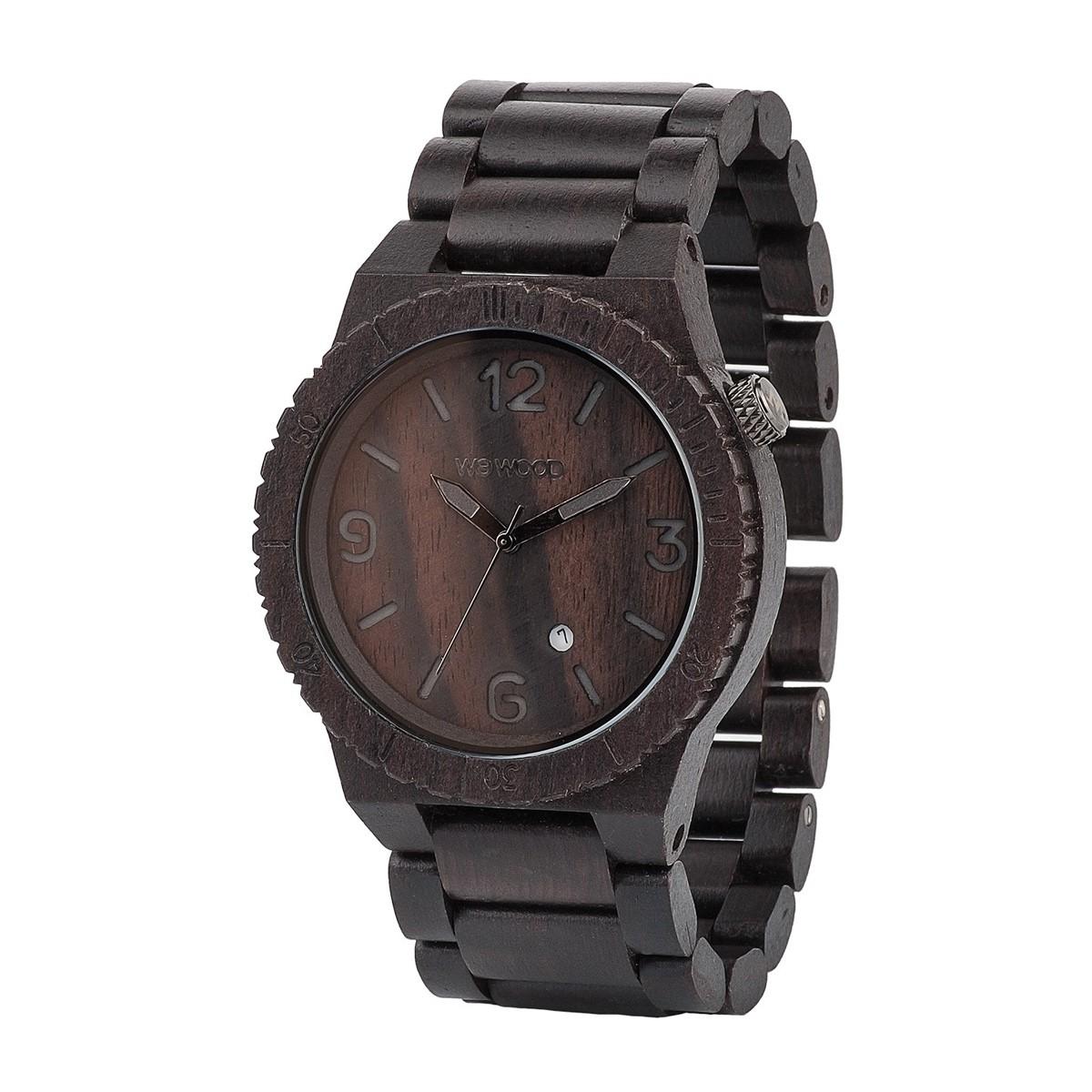 Часовник WeWood Alpha Black