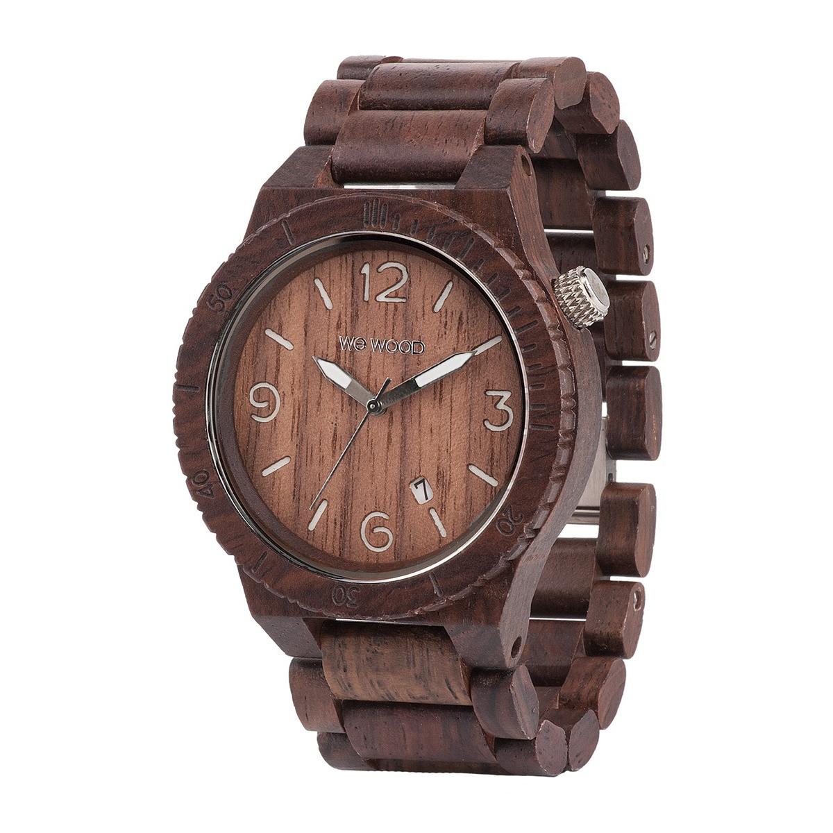 Часовник WeWood Alpha Chocolate