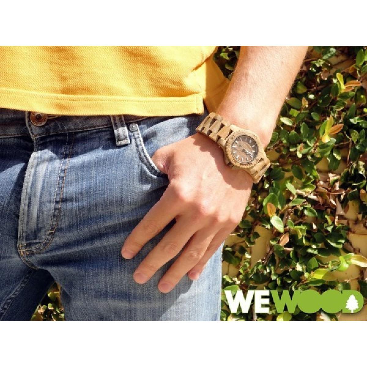 Часовник WeWood Date Teak