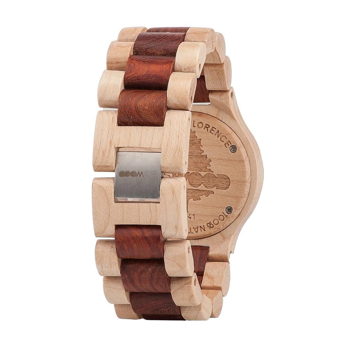 Часовник WeWood Date Beige/Brown