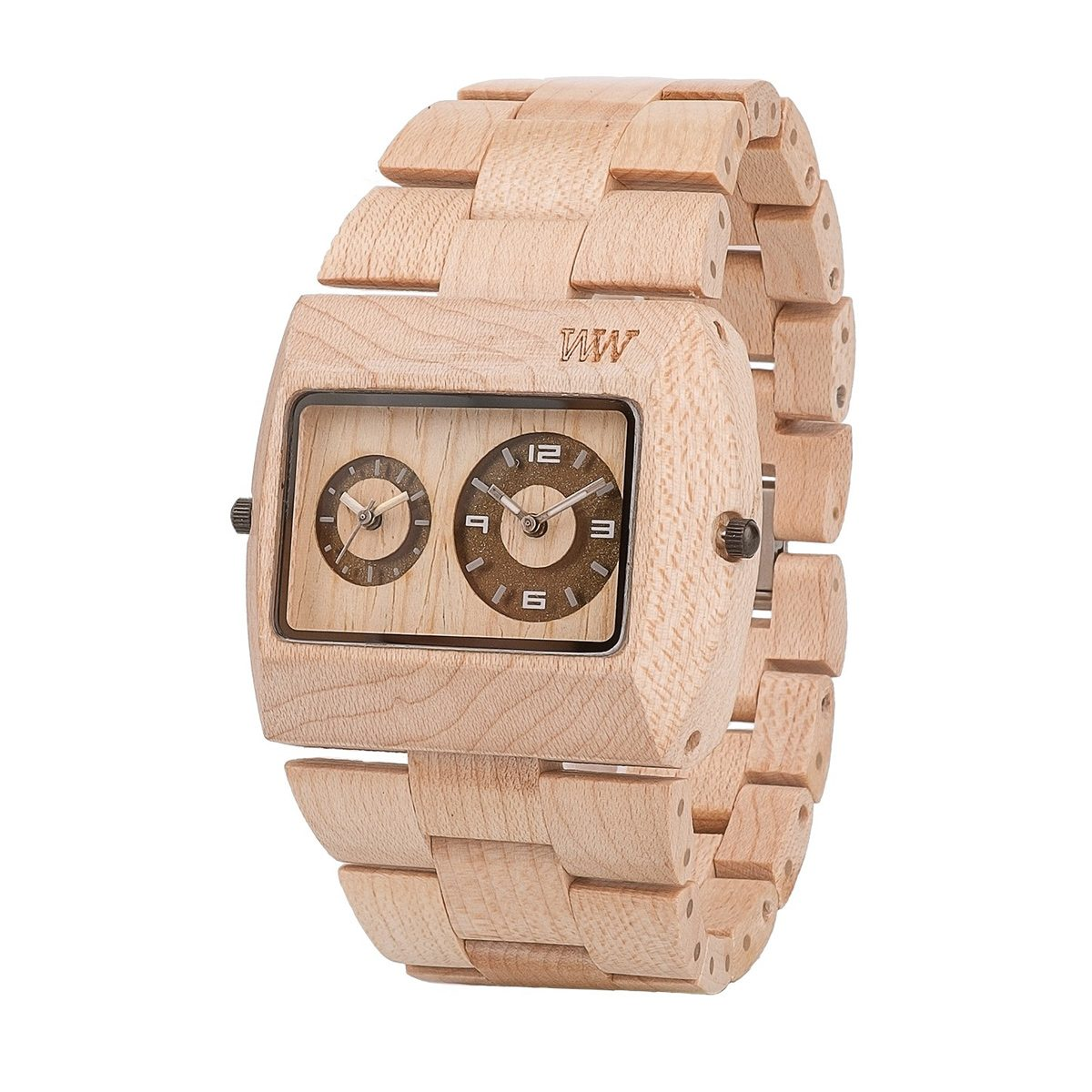 Часовник WeWood Jupiter Beige