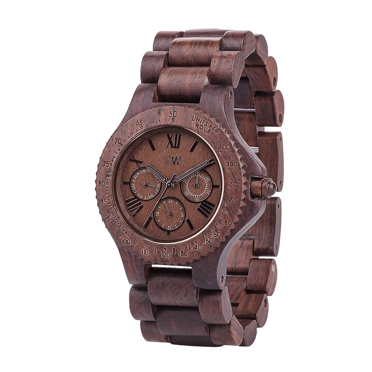 Часовник WeWood Sitah Chocolate