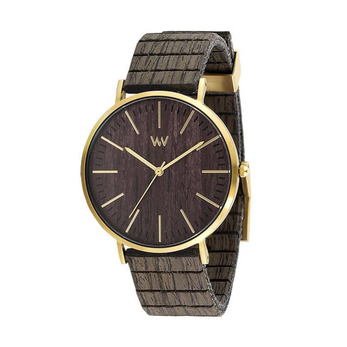 Часовник WeWood Horizon Gold Ebony