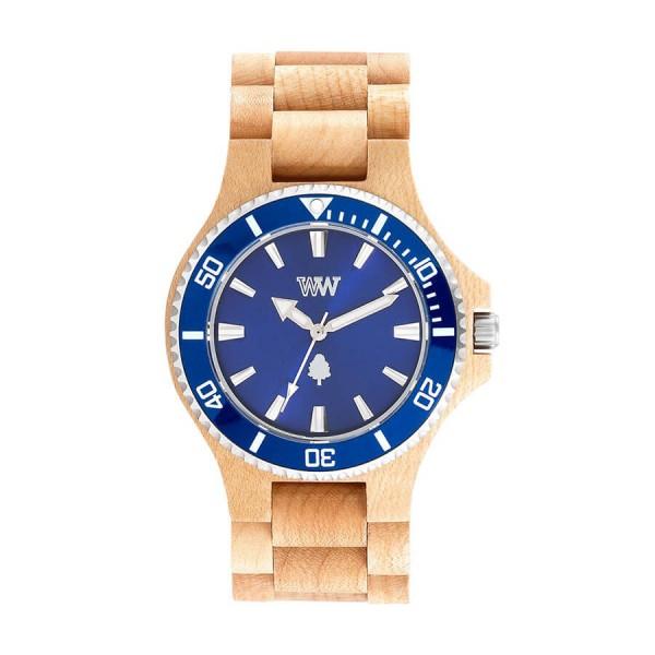 Часовник WeWood Date MB Beige Blue