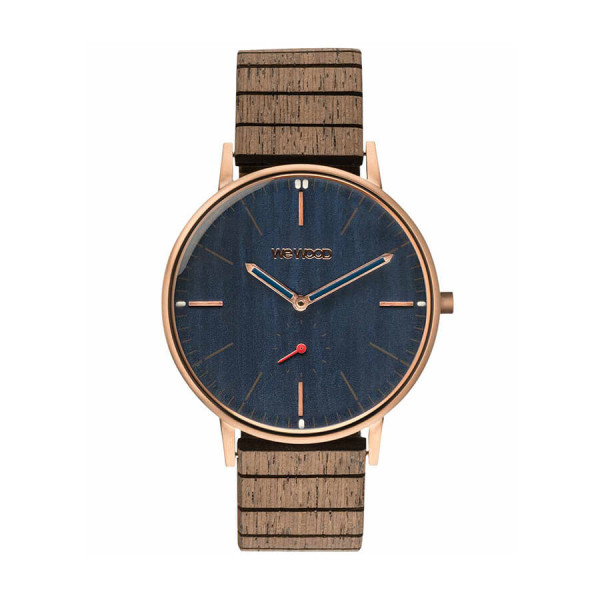 Часовник WeWood Albacore Rose Gold Blue Apricot