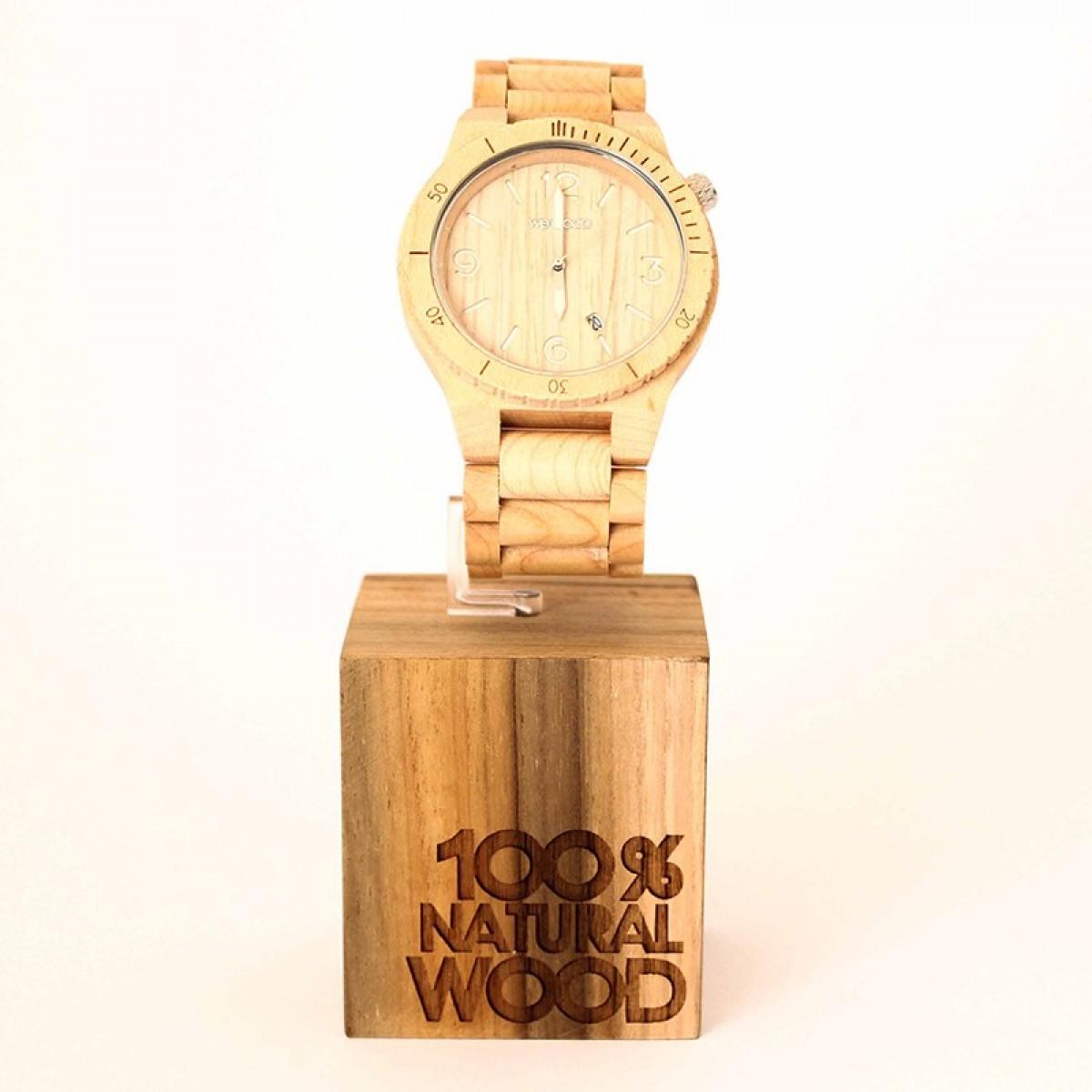 Часовник WeWood Alpha Beige