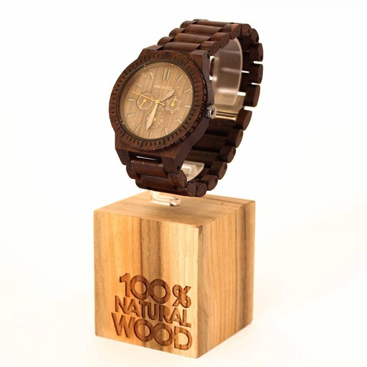 Часовник WeWood Kappa Chocolate