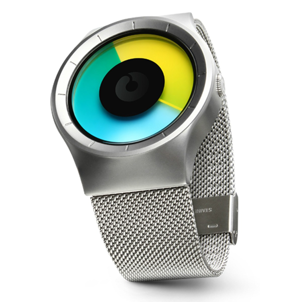 Часовник ZIIIRO Celeste Chrome Colored