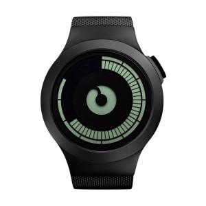 Часовник ZIIIRO Saturn Black