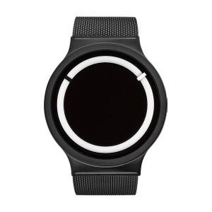 Часовник ZIIIRO Eclipse Steel Black Snow