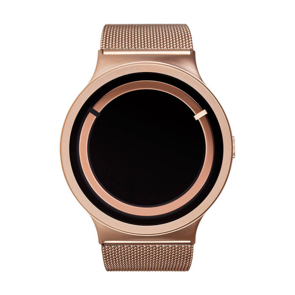 Часовник ZIIIRO Eclipse Steel Rose Gold