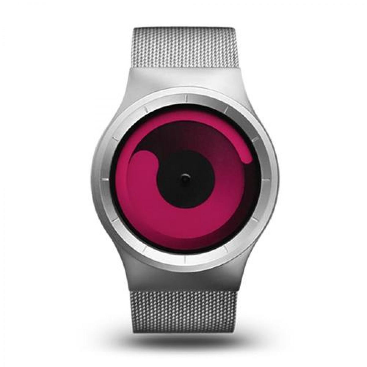 Часовник ZIIIRO Chrome Magenta