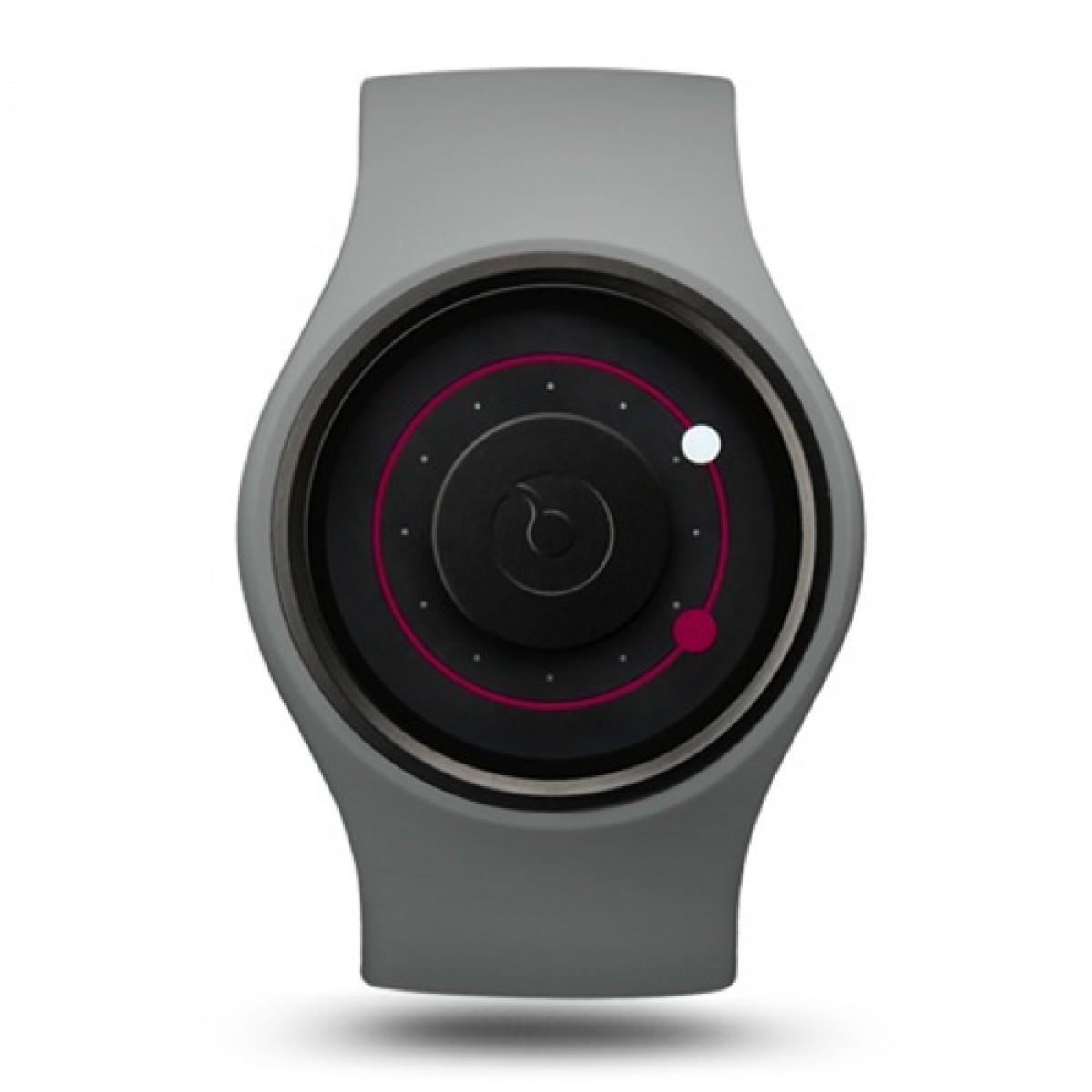 Часовник гривна ZIIIRO Grey Magenta