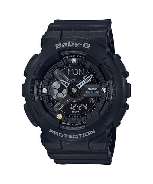 Часовник BABY-G BABY-G BA-135DD-1A 35TH ANNIVERSARY DIAMOND INDEX