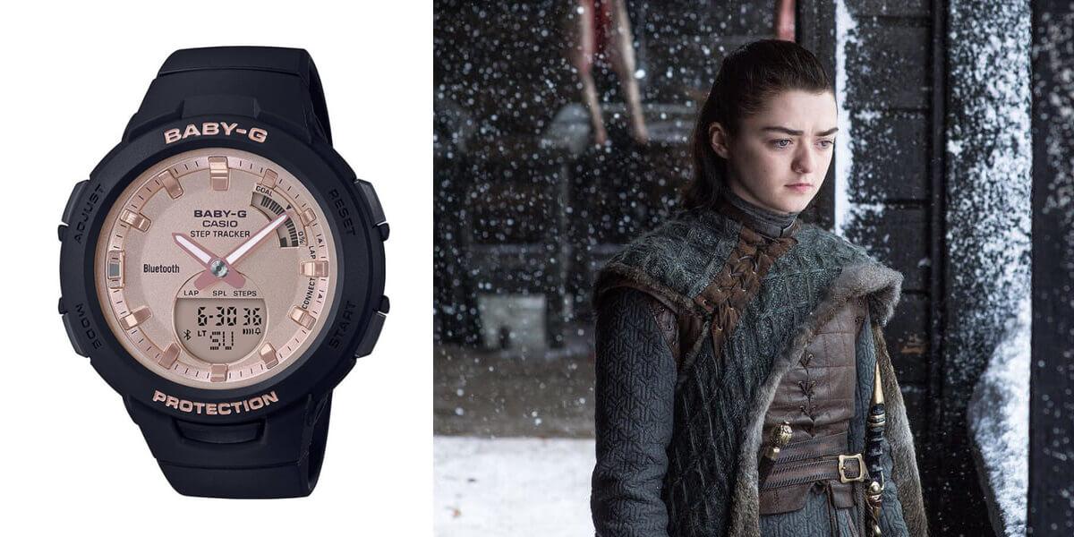 Часовникът на Аря Старк